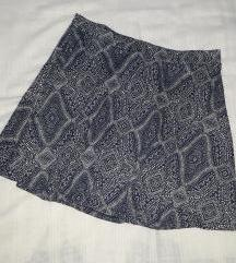 H&M pamucna suknja M/L