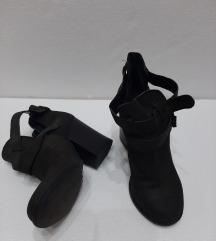 Bata sive kozne cipele 36