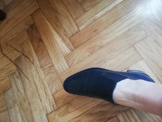 KOŽNE crne cipele