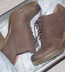 AR duboke cipele od prave kože