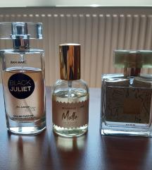 Tri parfema 1200 ili jedan 500
