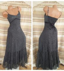 PHILDAR ♛ duga krep haljina, postavljena pamukom