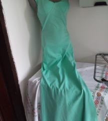 Nova mint duga haljina S/M
