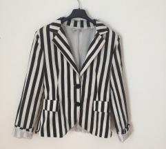 Crno beli sako - pruge M