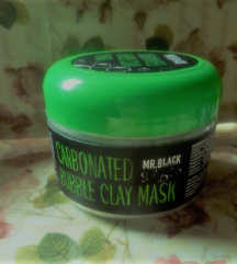 MR.BLACK CARBONATED BUBBLE CLAY MASK 100g