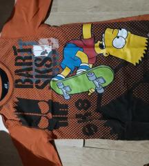 SNIZENA Bart Simpson majica