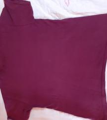 bordo majica, debeli pamuk