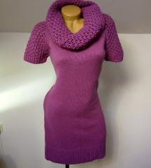 Roza zimska haljina *uni veličina