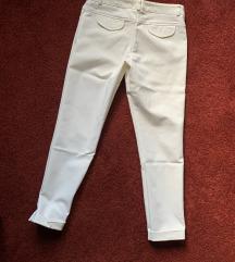 Cotton cigaret bele pantalone