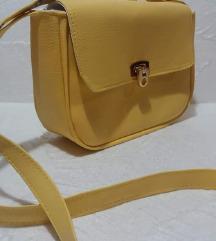 Nova žuta preslatka torbica