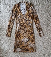 Animal print haljina