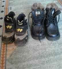 Dva para zimskih cipela 30.31