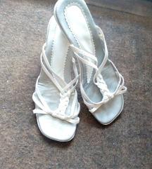 Bele papuce - br 36 - poklon
