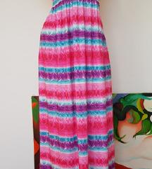 LAURA TORELLI maxi haljina divnih boja - nova