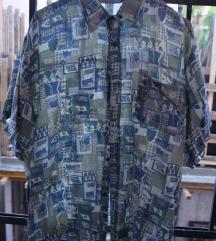 Svilena muška košulja Naf Naf 56 - CENA SMEŠNA
