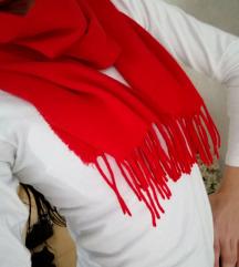 Crveni šal ❤️❤️❤️