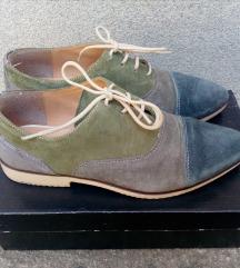 Cipele KOŽNE očuvane br. 37 gaz.23.5cm