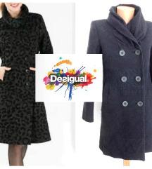 Desigual kaput +poklon haljina istog brenda DANAS
