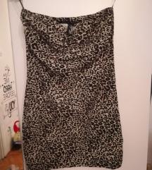 mini tigrasta haljinica