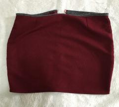 Bordo suknja 38 veličina