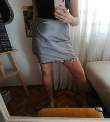 Benetton poliester mini suknja