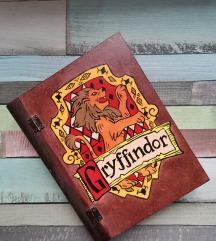 Gryffindor/ grifindor kutija u obliku knjige