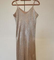Shiny plise haljina