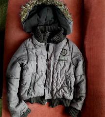 KAO NOVA snižena dečija siva zimska jakna vel. 8