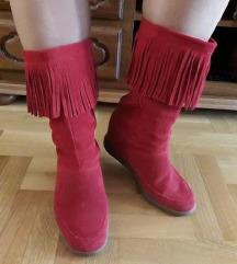 SKCH+3 SKECHERS crvene cizme NOVE 39/ 25.5cm