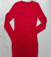 New Yorker haljina - rebrasti pamuk NOVO