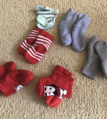 Zimske čarapice za bebe
