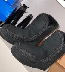 Mou crne duboke cizme