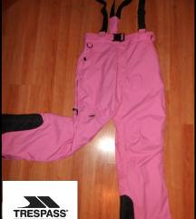 Ski pantalone Tresspass roze