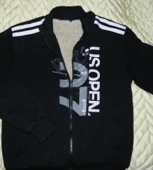 Topla postavljena jakna sa kapuljacom vel L-XL