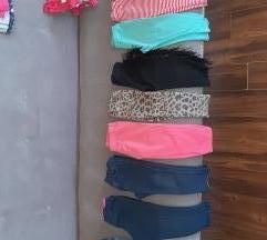 Paket za devojcice 1,5-2god-helanke,haljine
