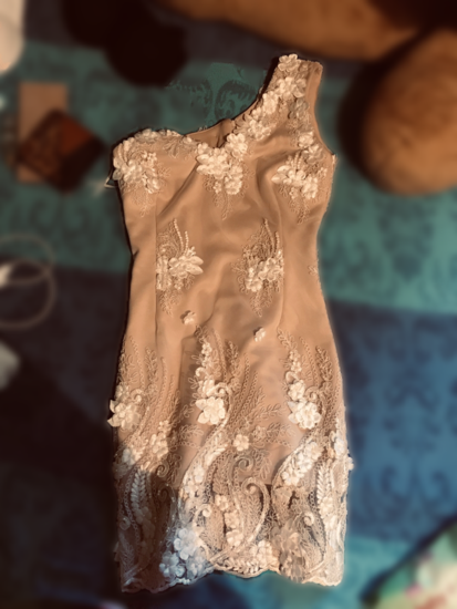 Haljina  3D cipka