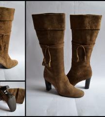 Carmens čizme, prirodna koža, 41,5 - 42, prelepe!