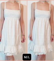 Pamucna,italijanska  haljinica