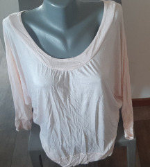 H&M majica od viskoze, NOVO, XS/S