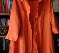 Svilenkasta košulja-haljina S,  M