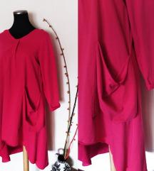 Sasha Ferrano pink duks/haljina