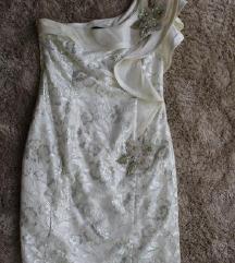 Svecana bela haljina od cipke