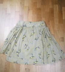 Nova Stefanel suknja od pamuka