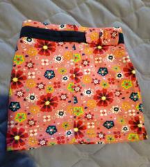 NOVA suknjica sa cvetićima