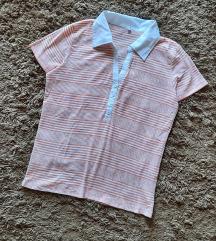 Majica sa kragnom na pruge
