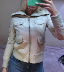 Kožna jakna Mango