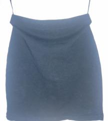 Mini crna suknja New Yorker