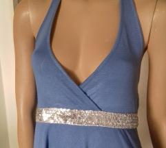 SANCRED prijatna tegljiva haljina gola ledja