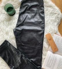REZZ NOVE kožne Benetton pantalone
