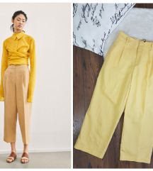 Zara * M * pantalone lan 7/8 * NOVO